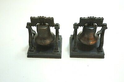 Lot Of 2 Vintage Liberty Bell Proclaimed Freedom July 1776 Metal By Penncraft