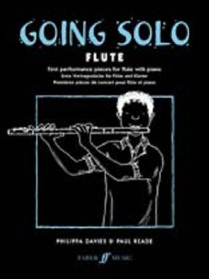 GOING SOLO FOR Flute Sheet Music Book with Piano First Performance