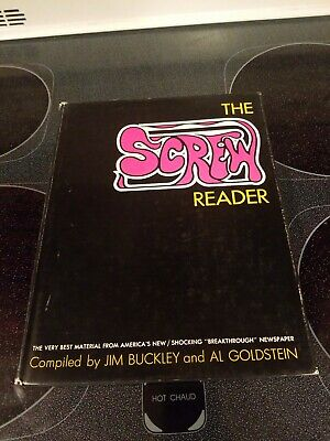 The Screw Reader Compiled By Jim Buckley And Al Goldstein 1st edition