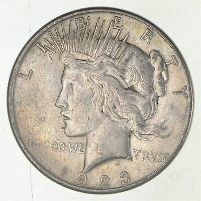 Early - 1923-S - Peace Silver Dollar - 90% US Coin *780
