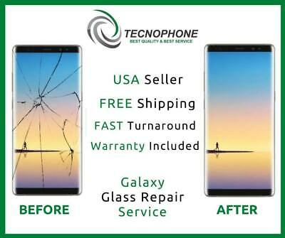 Samsung Galaxy Note 8 Cracked Screen Glass Repair Replacement Mail In Service
