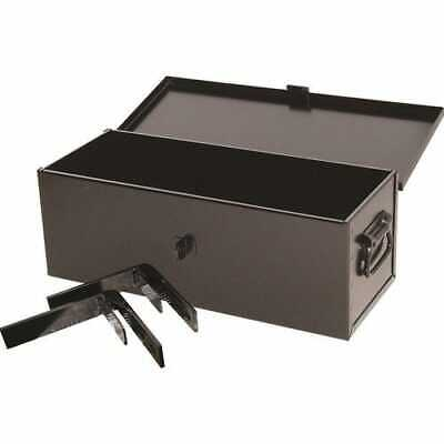 """Tractor Tool Box with Brackets - 21"""" x 8"""" x 7"""""""