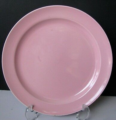 LuRay Pastels Pink Dinner Plate USA Light Pink T.S. & T. Lu-Ray Plate 5573