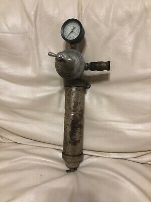 Vintage Devilbiss Co. Regulator With Gauge - Steampunk