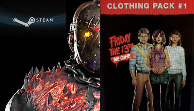 Friday The 13th Game All DLC Clothes Packs Jason Savini Bloody Skins