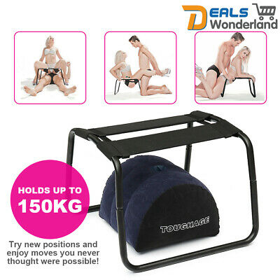 Sex Aid Bouncer Weightless Chair Inflatable Pillow Love Position Stool Bounce