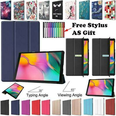 "For Samsung Galaxy Tab A 10.1"" 2019 SM-T510 T515 Pattern Case Cover Stand"