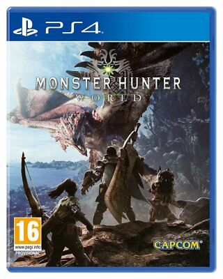 Monster Hunter World Sony Playstation PS4 Game 16+ Years