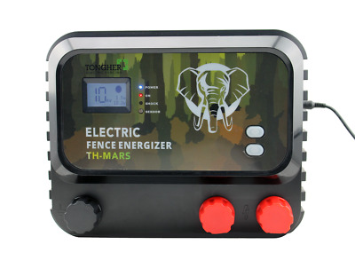 Electric Fence Energiser 8 Joule. Solar/Battery/Mains