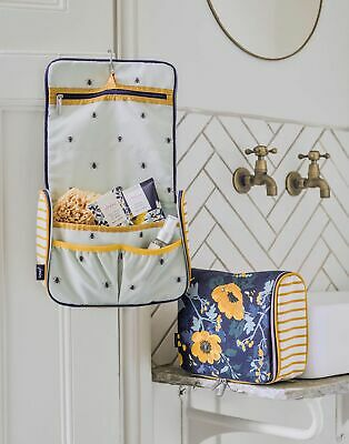 Joules Home Toiletry Bag Gift Set in FRENCH NAVY FLORAL in One Size