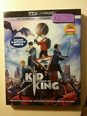 The Kid Who Would Be King 4k/bluray( digital code isn't included)