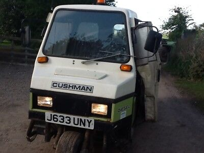 3 wheel diesel cushman with sand spender Kubota engine