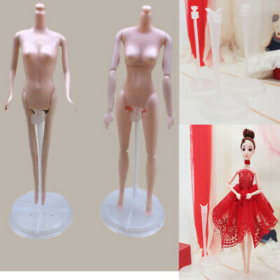 """8 PCS Doll Stand  for Barbie Small Waisted Fashion Dolls Stands 11"""" &12"""""""