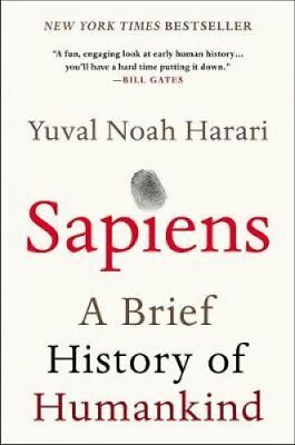 Sapiens A Brief History of Humankind by Yuval Noah Harari 9780062316110