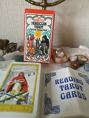 The Royal Fez Moroccan Tarot RIGEL Press vintage 1975 Rare Collectable OOP