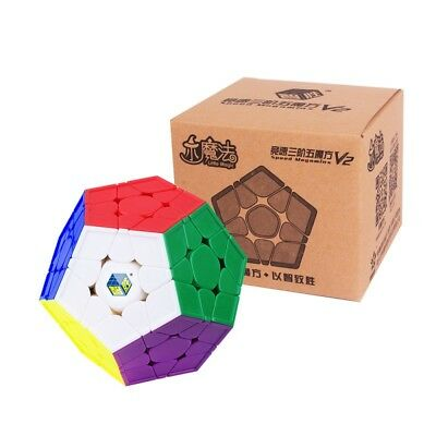 Yuxin 3x3x3 Little Magic Megaminx Speed Cube Professional Twist Puzzles Kids Toy