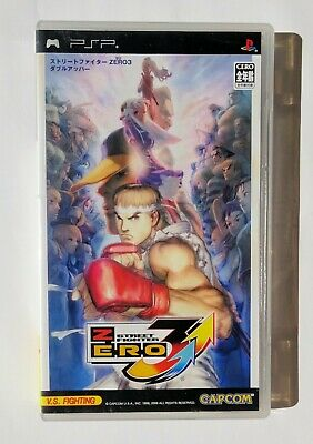 Manuals & Guides 2001 Capcom Street Fighter Zero 3 Upper Header