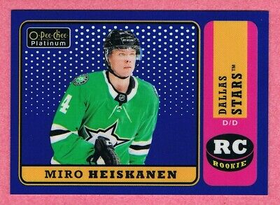 2018-19 O-PEE-CHEE OPC PLATINUM RETRO BLUE RAINBOW #R-1 to R-100 Pick List #/149