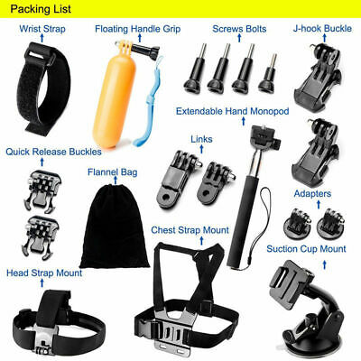 Camera Accessories Action For GoPro Hero 6/5/4/3+/3/2/1 Kit 2018 High quality