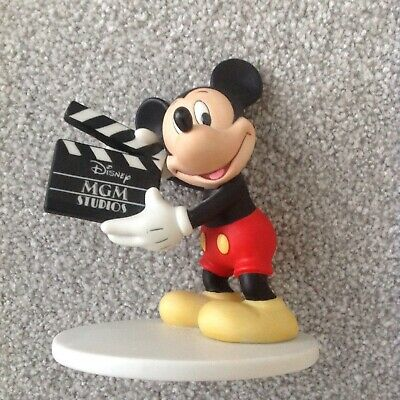 Mickey Mouse MGM Studios Bisque Figure Ornament Disney World