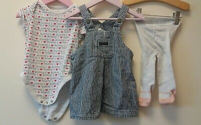 Baby Girls Outfit/Bundle Age 12-18 <J8059