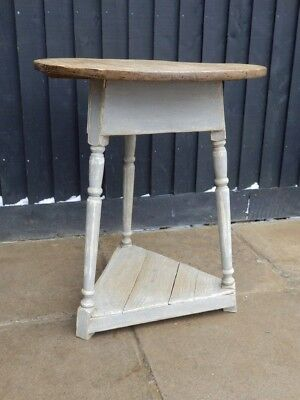 Table pine, kitchen, Victorian Cricket Table, antique