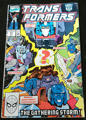Transformers comic (Marvel US) - issue #69
