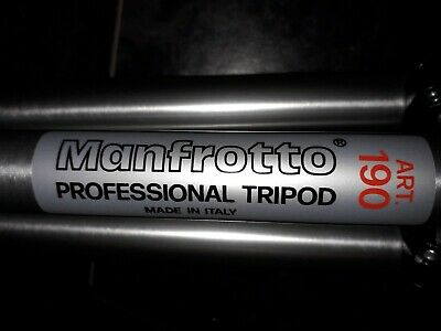 Manfrotto Professional Aluminium Tripod ART 190 with carry case.