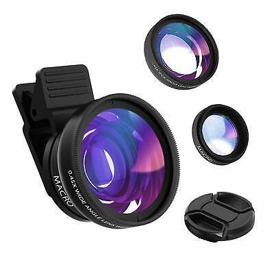 Hvspring Phone Camera Lens kit for iPhone 8/7/6 Plus  and Android Smartphone