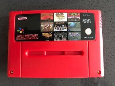 SNES 100 in 1 EUR Version With Game