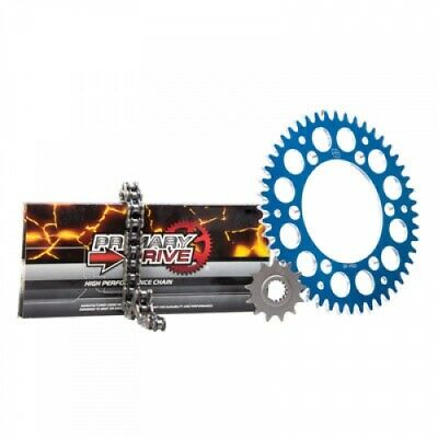 Primary Drive Alloy Kit & O-Ring Chain Blue Rear Sprocket 1437620265