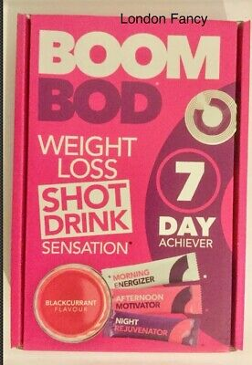 BOOMBOD 7 Day Achiever 21 Sachets/CLINICALLY PROVEN WEIGHT LOSS FIBRE.