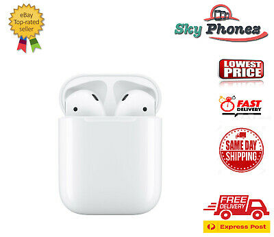 Apple AirPods 2nd Generation (2019) with Charging Case only - White AUS stock