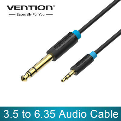VENTION 3.5mm to 6.35mm Adapter Audio Cable for Mixer Amplifier Guitar Aux Cord