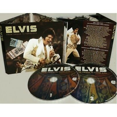 ELVIS PRESLEY - FROM OMAHA TO RAPID CITY - 2 CD Digipack sealed RARE
