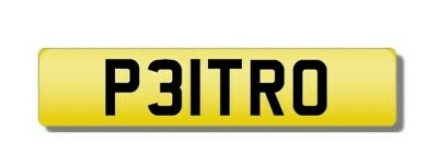 *P31Tro* Rare *Private Number Plate