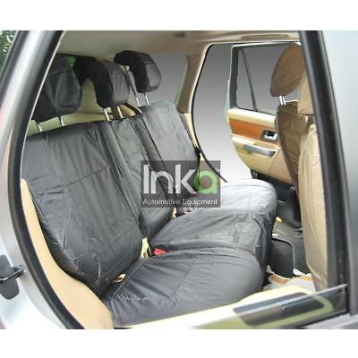 Range Rover L322 Vogue Rear Inka Tailored Waterproof Seat Covers Grey 02-12