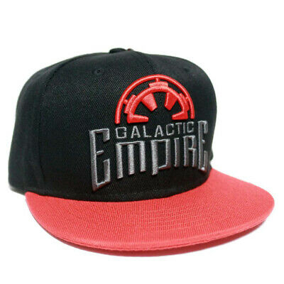 OFFICIAL Star Wars Galactic Empire Logo Symbol Baseball Cap Snapback Hat (NEW)