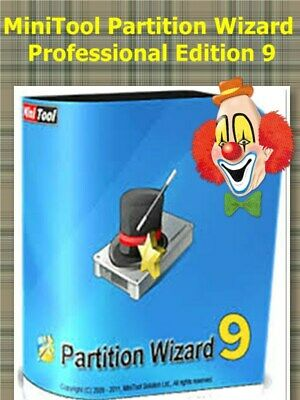 MiniTool Partition Wizard Professional Edition 9.0 Key  Full Version