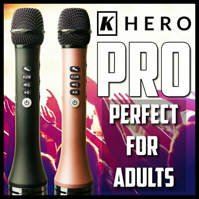 Wireless Karaoke Microphone Machine Speaker K Hero Pro Bluetooth KTV