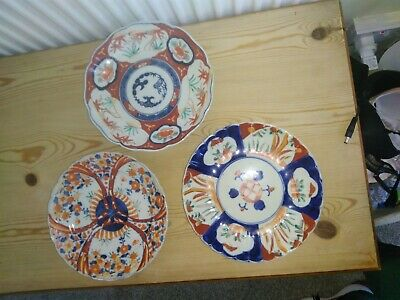 Antique Job Lot Chinese Japanese Imari Porcelain Plate Dish Armorial Wholesale