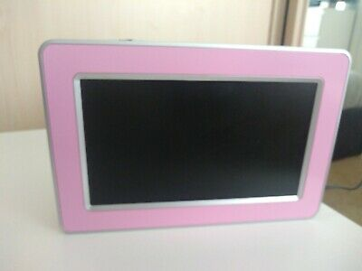 Pink Digital Photo Frame Logik