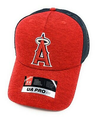 detailed look c2d4c efe3e New Under Armour MLB One Panel Cap Men s Red SnapBack Baseball Hat