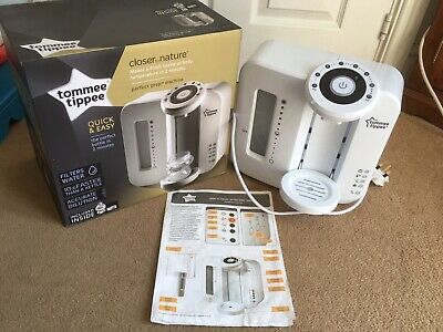 Tommee Tippee Closer To Nature Perfect Prep Machine (Excellent Condition)