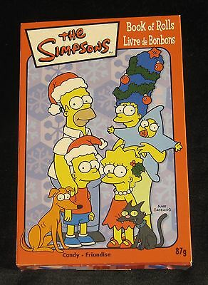 "Süßigkeit/Candy THE SIMPSONS ""Book of Rolls / Livre de Bonbons"" ... from Canada"