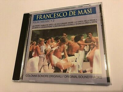 FILM MUSIC 2 (Francecso De Masi) OOP Vivi Musica Score Soundtrack OST CD EX