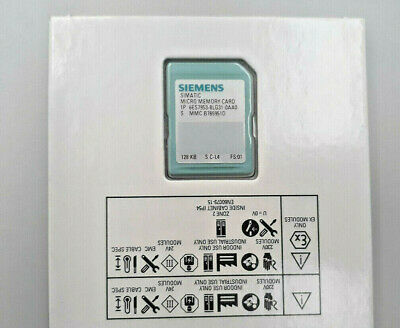 Siemens 6ES7953-8LG31-0AA0 S7 MICRO MEMORY CARD, 128KB - NEW IN ORIGINAL BOX