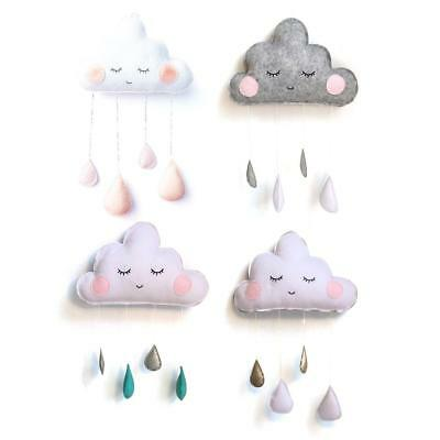 Wall Hanging Cloud Ornament  Baby Kids Room Tent Decoration Props Home Decor Art