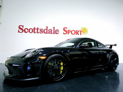 2018 Porsche 911 GT3 MANUAL * ONLY 12 Miles...Giant Options! 2018 GT3 MANUAL w 16 DELIVERY MILES, BLK-BLK w HUGE OPTIN LIST, DELIVER NOW!