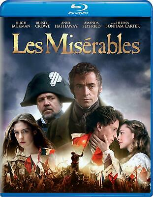 Les Misérables (Blu-ray only with case 2013) NEW & SEALED